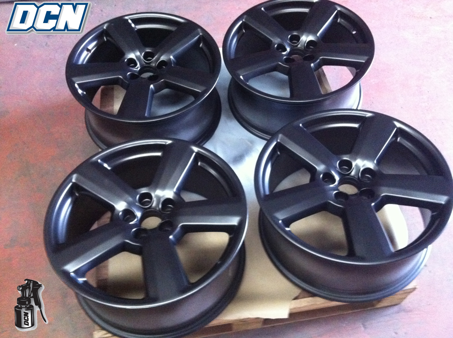 Alloy Wheel Painting After